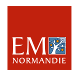 Logo Ecole de Management de Normandie